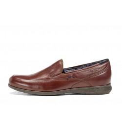 fluchos zapato marron 9762 nelson vacheta
