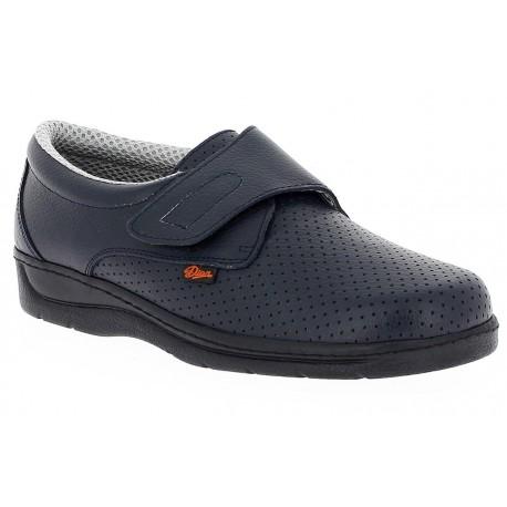 Zapato zueco giralda 1900 Dian Azul Marino