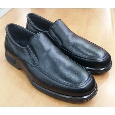 Zapato Mocasin Piel Antideslizante Albapiel
