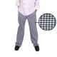 Pantalon Cocina Cuadros Azul PC10