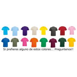 Colores Camiseta VALUEWEIGHT 610360