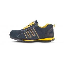 Zapato deportivo Seguridad P3005 Workteam Gris Oscuro Azul