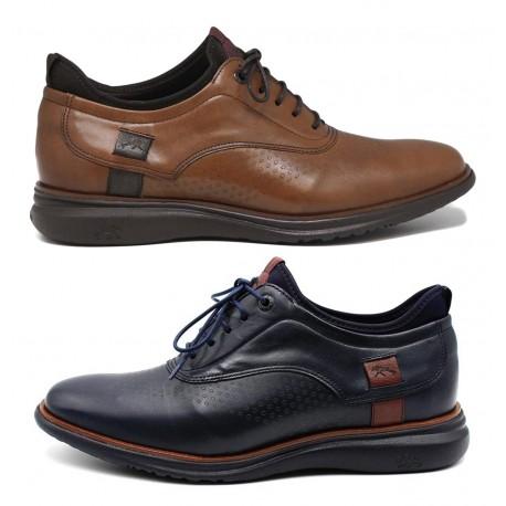 Zapatos con cordones marino FLUCHOS 9844