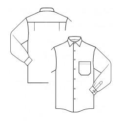 Camisa Manga Larga Clasica 101L Amattex