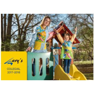 Catalogo Garys Colegial 2017 - 2018