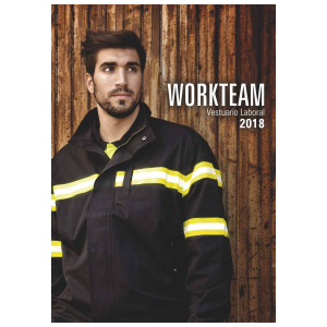 Catalogo Workteam Vestuario Laboral 2018