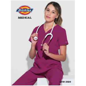 Catalogo Dickies Medical 2019 2020